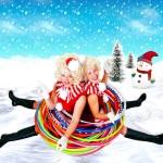 Santa Sisters Snow