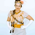 Whip equestrain Vintage circus