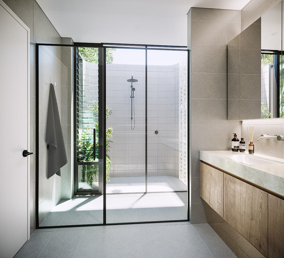 Private Outdoor Shower