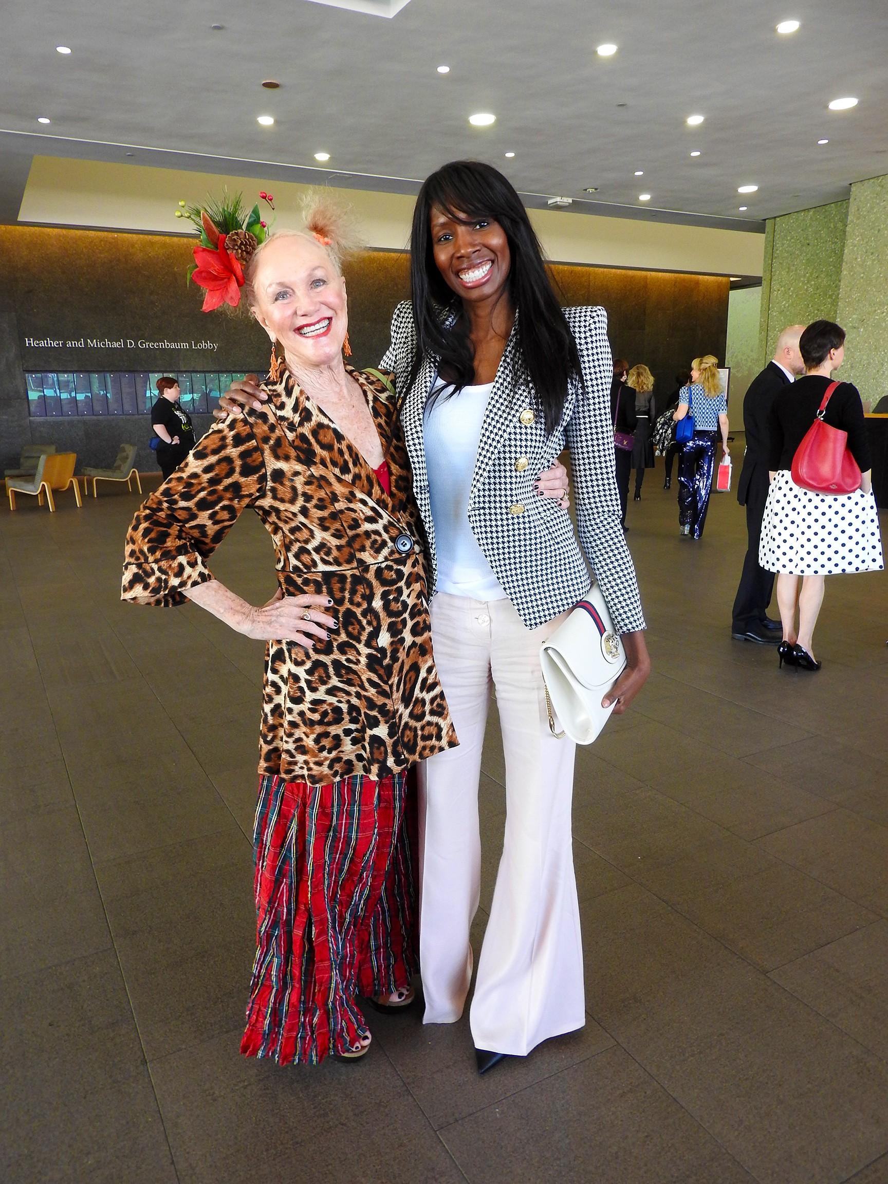 Liz Agboola and Billie Jo Herberger