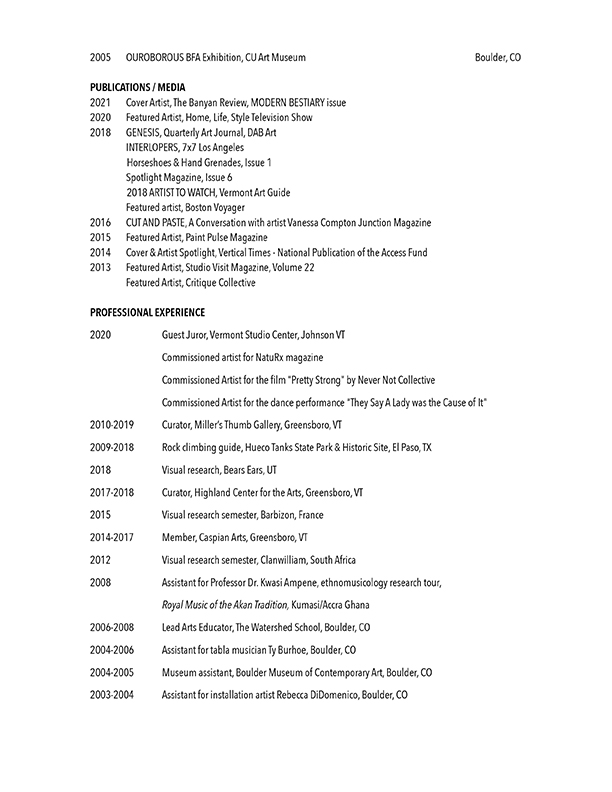Vanessa Compton CV 2019 for mobile page 3