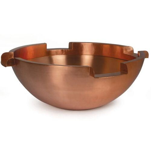 "26"" Four Way Copper Pool Spillbowl"