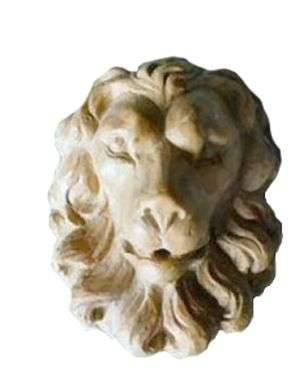 Marble Lion Head Fountain Mask