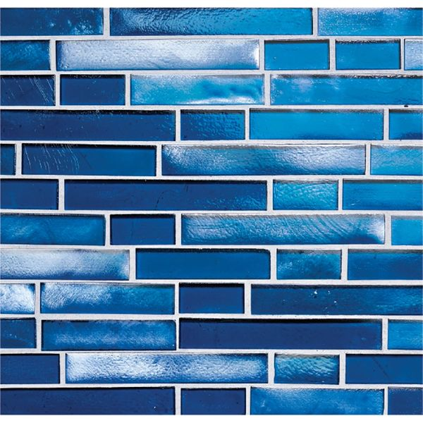 Sapphire Blue Interlocking Pool Tile
