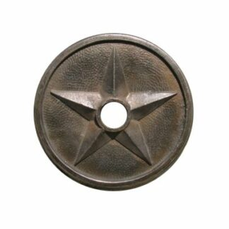 Lone Star Escutcheon Plate