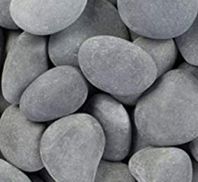 Natural Grey River Rock for Pool Bowls