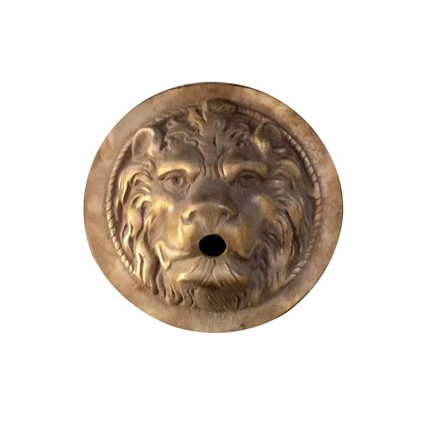 Round Lion Head Water Feature