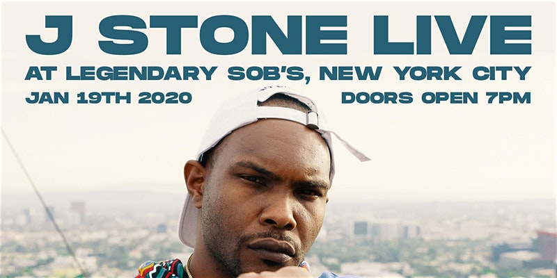 J Stone Live at SOB'S NYC (Trailer)