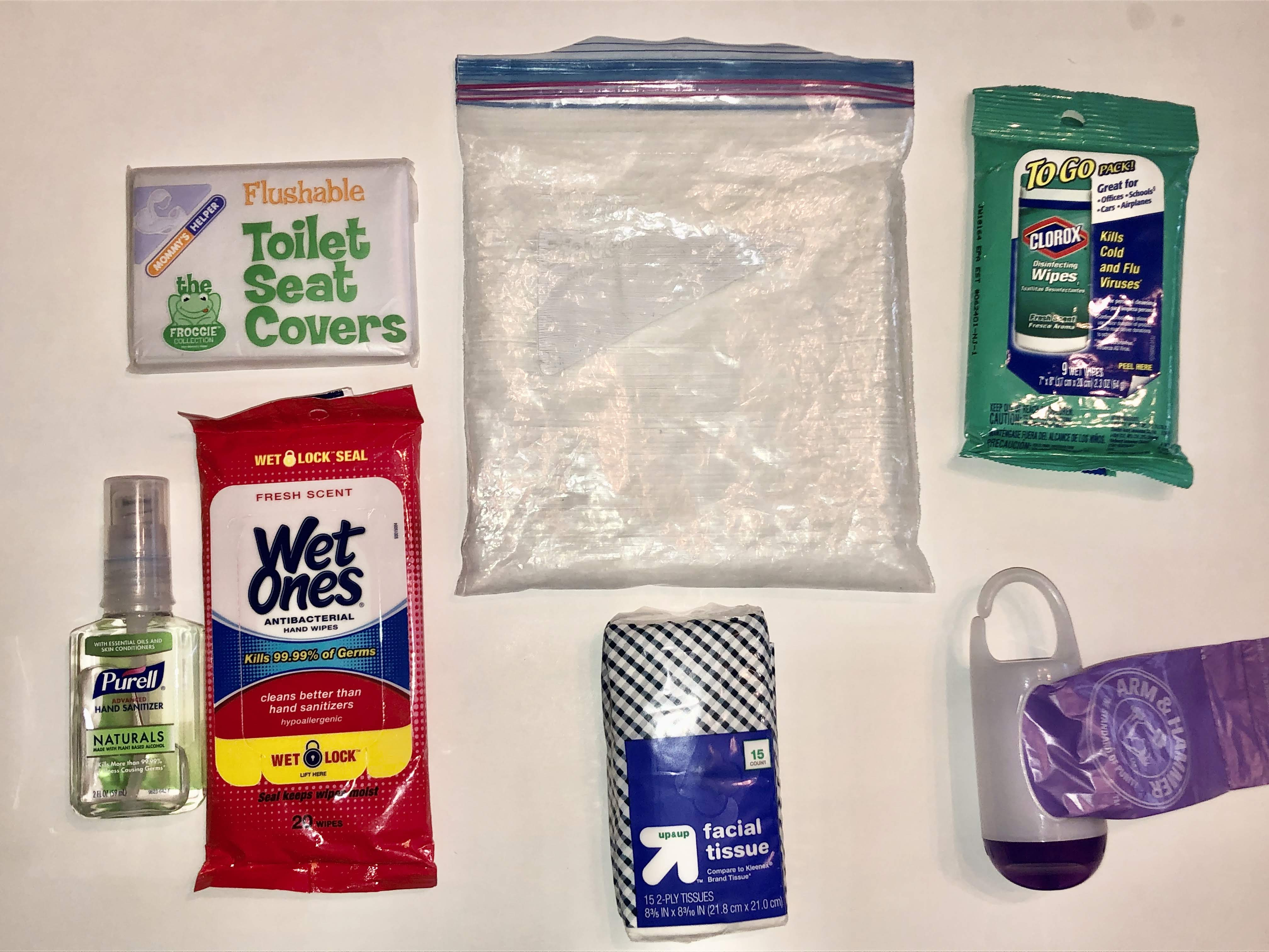 Five Items I Bring in My Travel Sanitary Essentials Kit