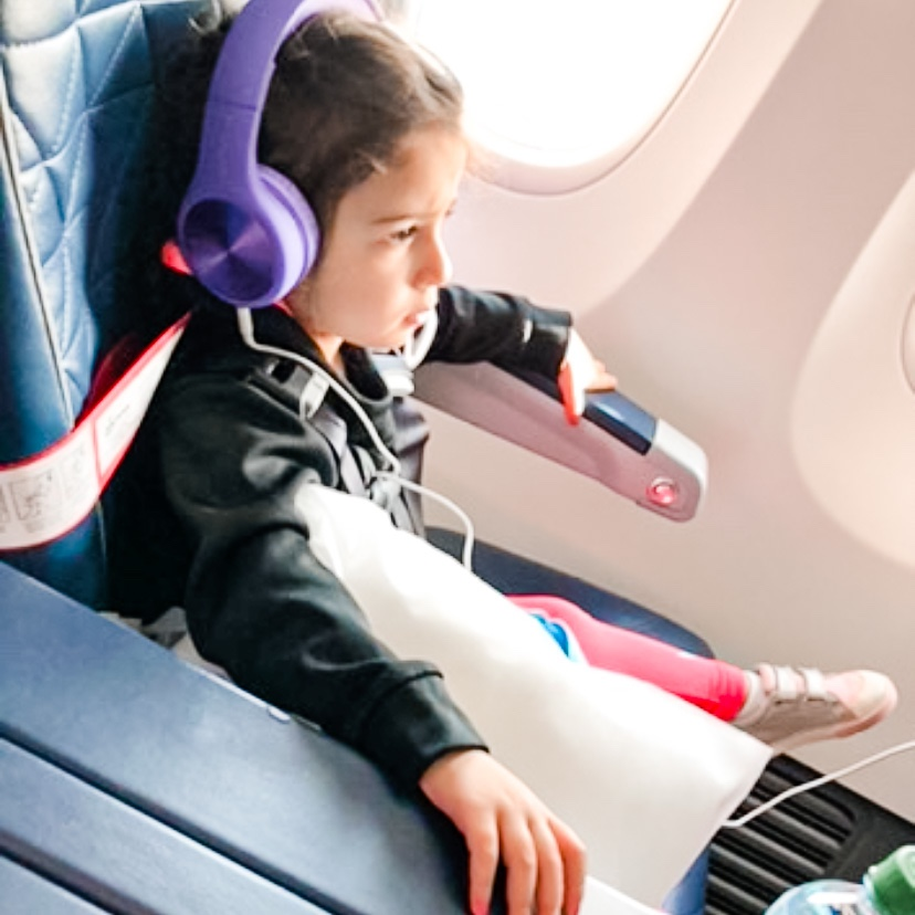 Favorite Air Travel Items for Kids