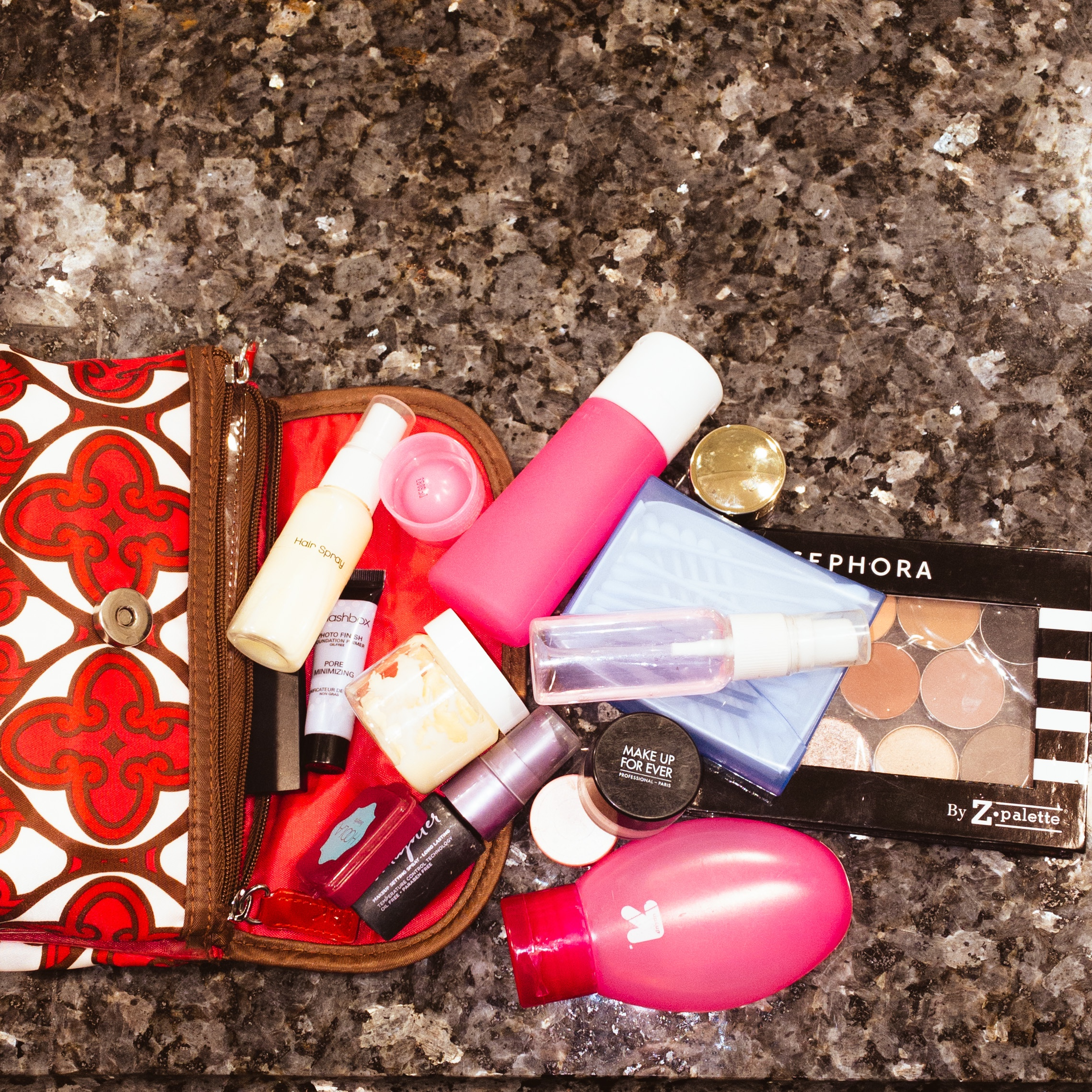 Hacks to Avoid Buying Makeup and Skincare Items Solely for Travel