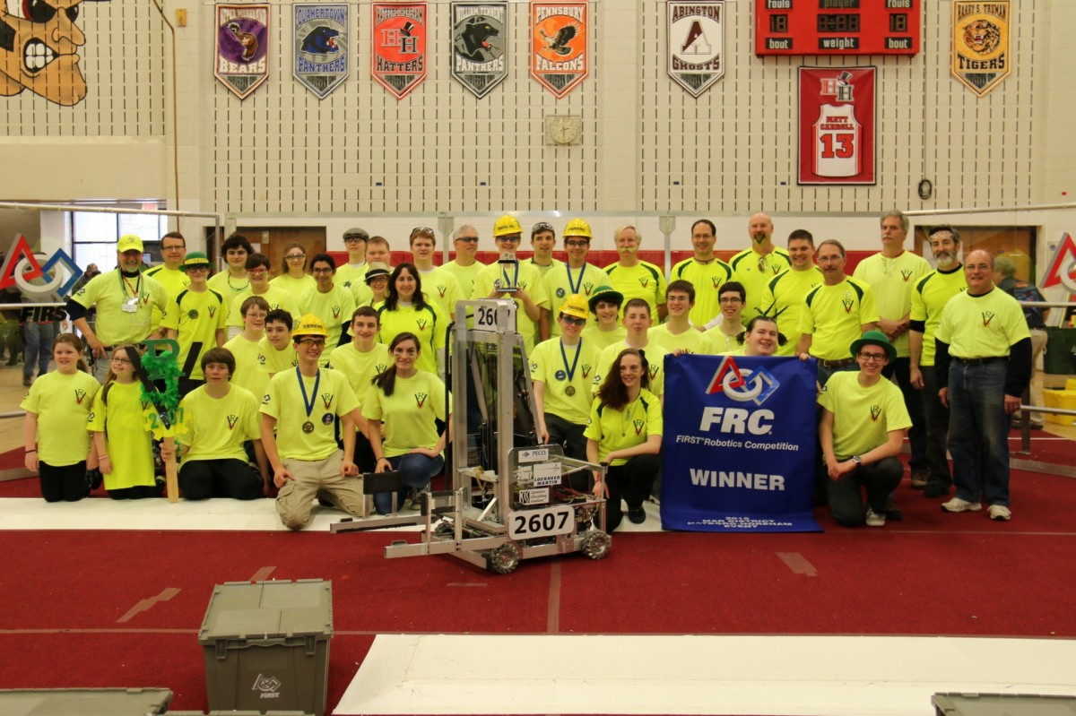 2015 FRC District Winner - Hatboro Horsham HS