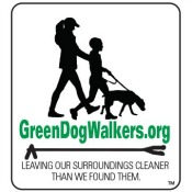 Green Dog Walker logo