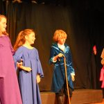 Ariel dress, Carlotta, Grimsby, & Eric