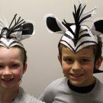 Zebra headpieces
