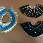 reversible black & gold_gold & blue stars Egyptian collars