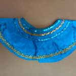 teal w_gold accents Egyptian collar