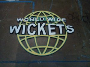 World Wide Wickets Sign