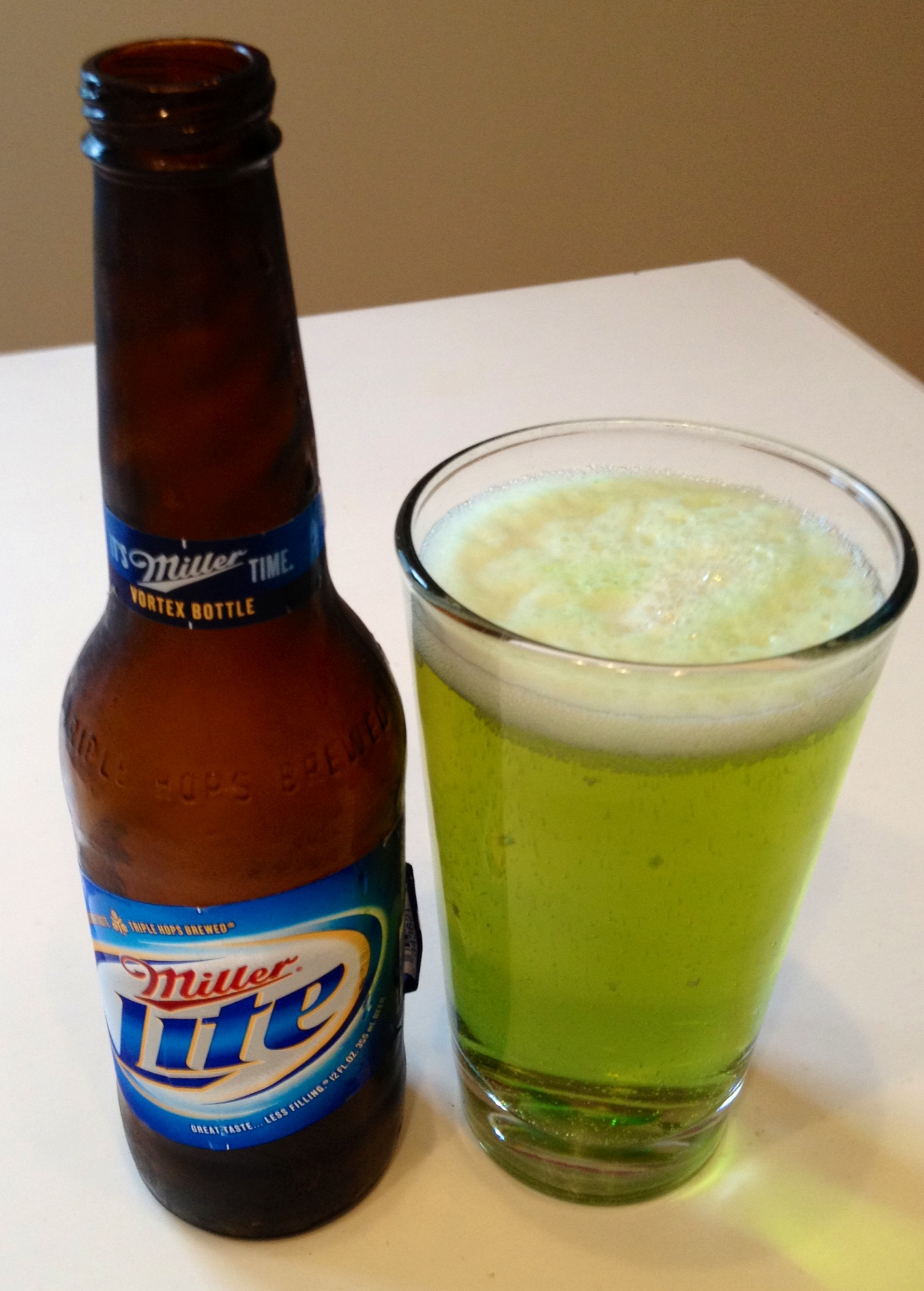 St. Paddy's Day: Green Beer and Bacon