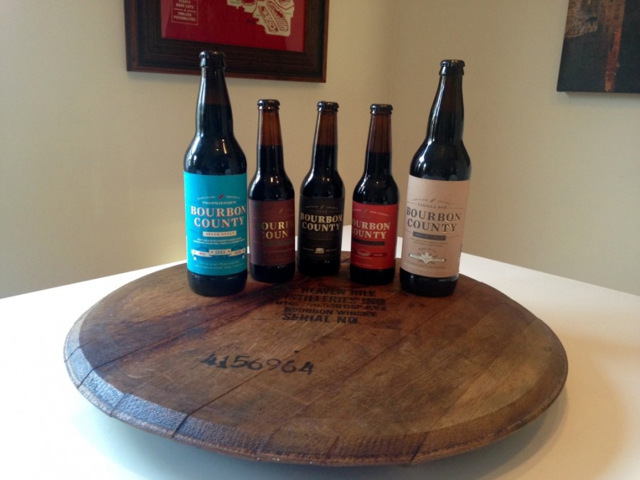 Goose Island 2014 Bourbon County Brand Stout Review