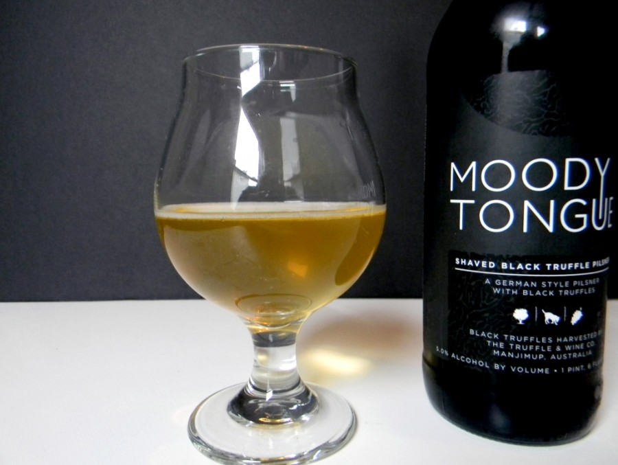 Moody Tongue's $120 Shaved Black Truffle Pilsner Review