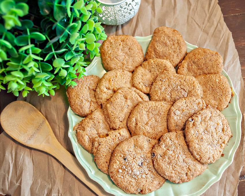 pumpkin snicker doodle cookies