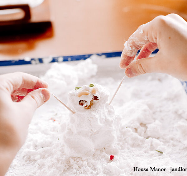 DIY Indoor Snowman Craft