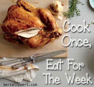 cook-once eat for a week