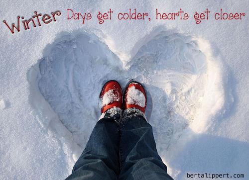 snow-heart