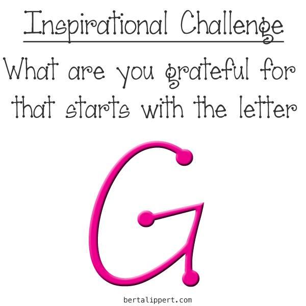 inspirational challenge