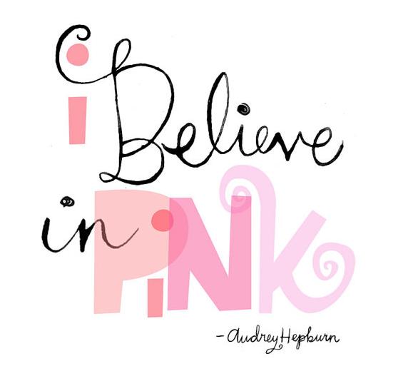 i believe in pink berta lippert