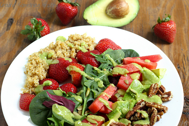 california power salad
