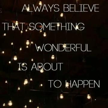 believe w
