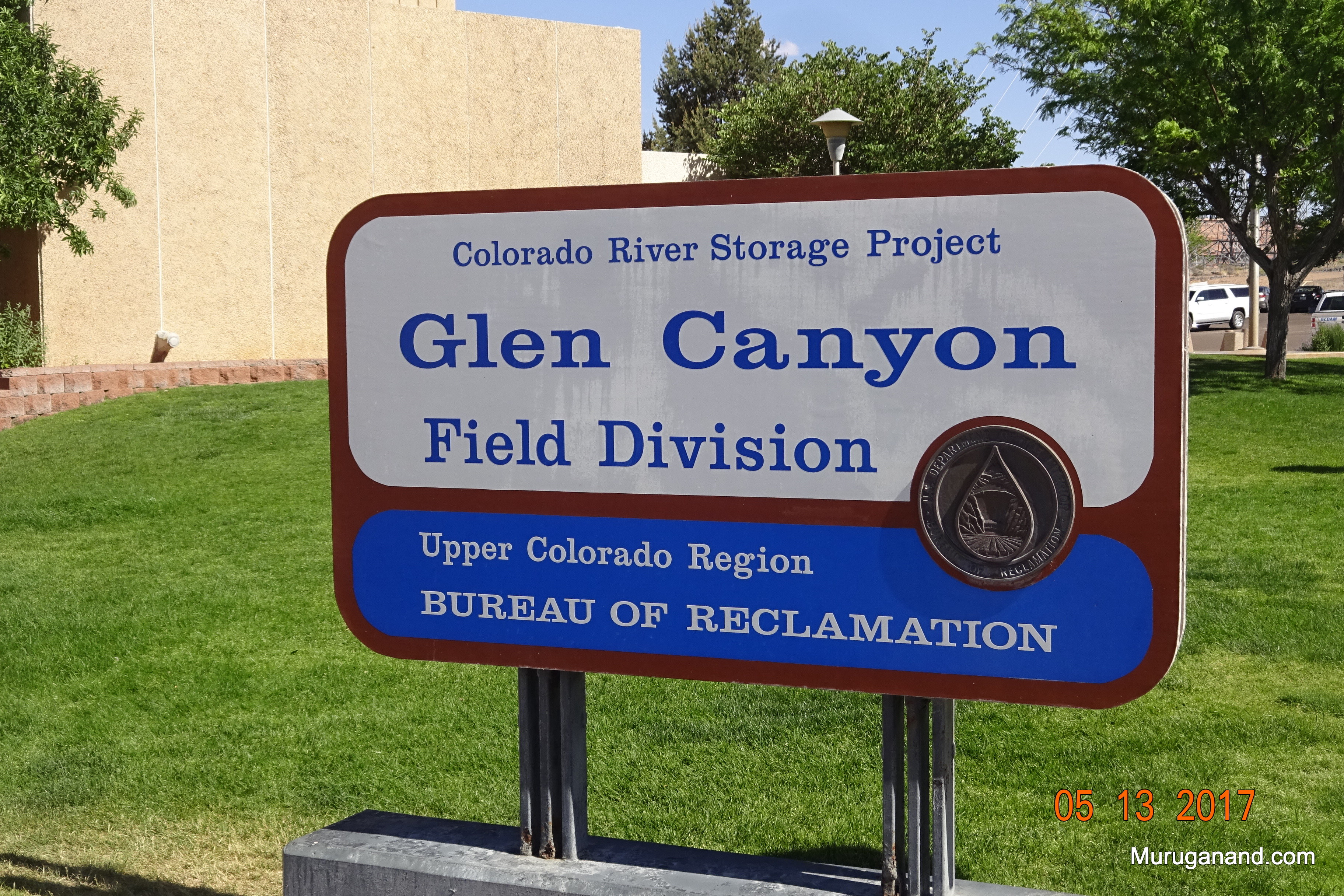 Glen Canyon DamVisitor Center Parking Area