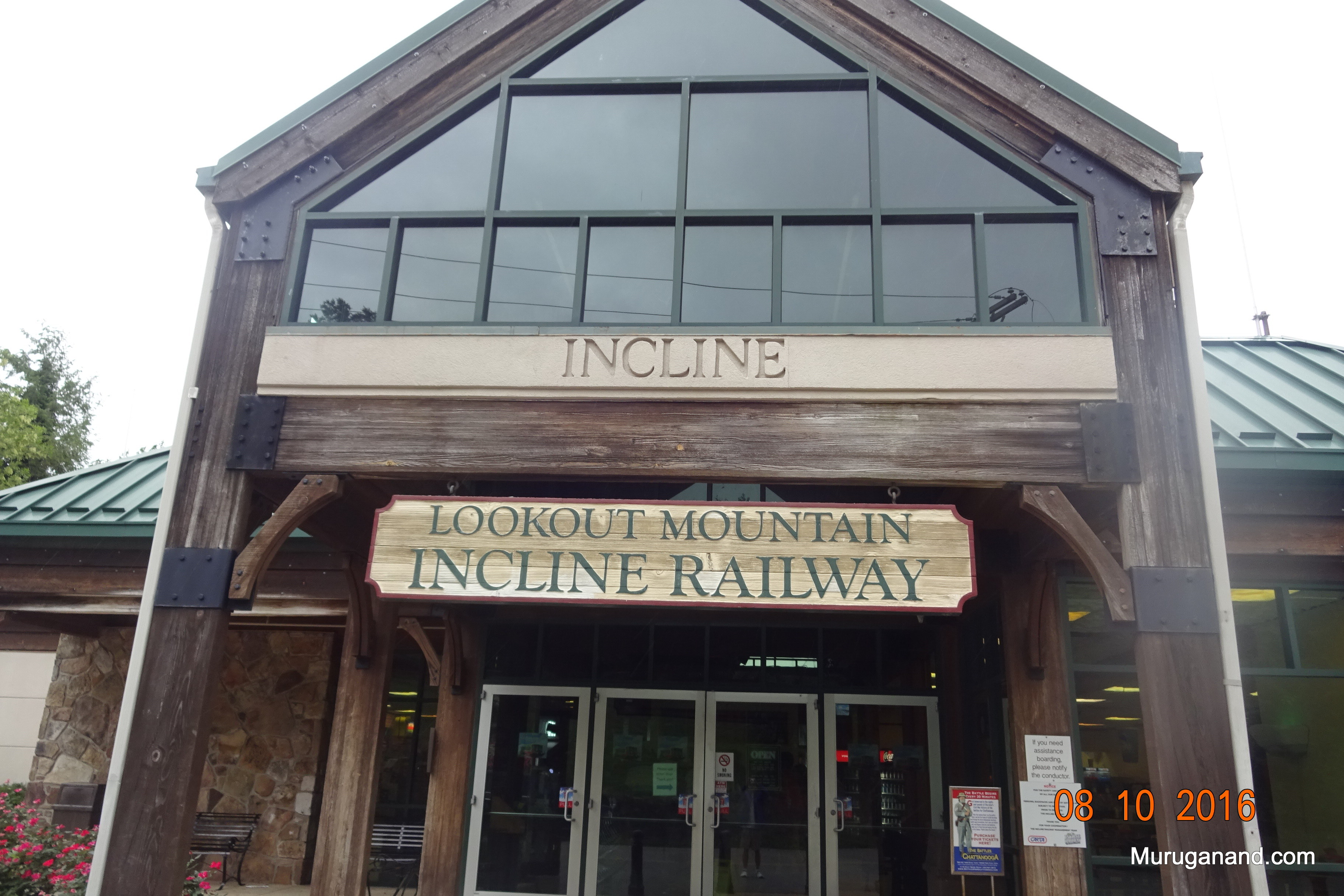 Incline railway is a mechanical engineering marvel.
