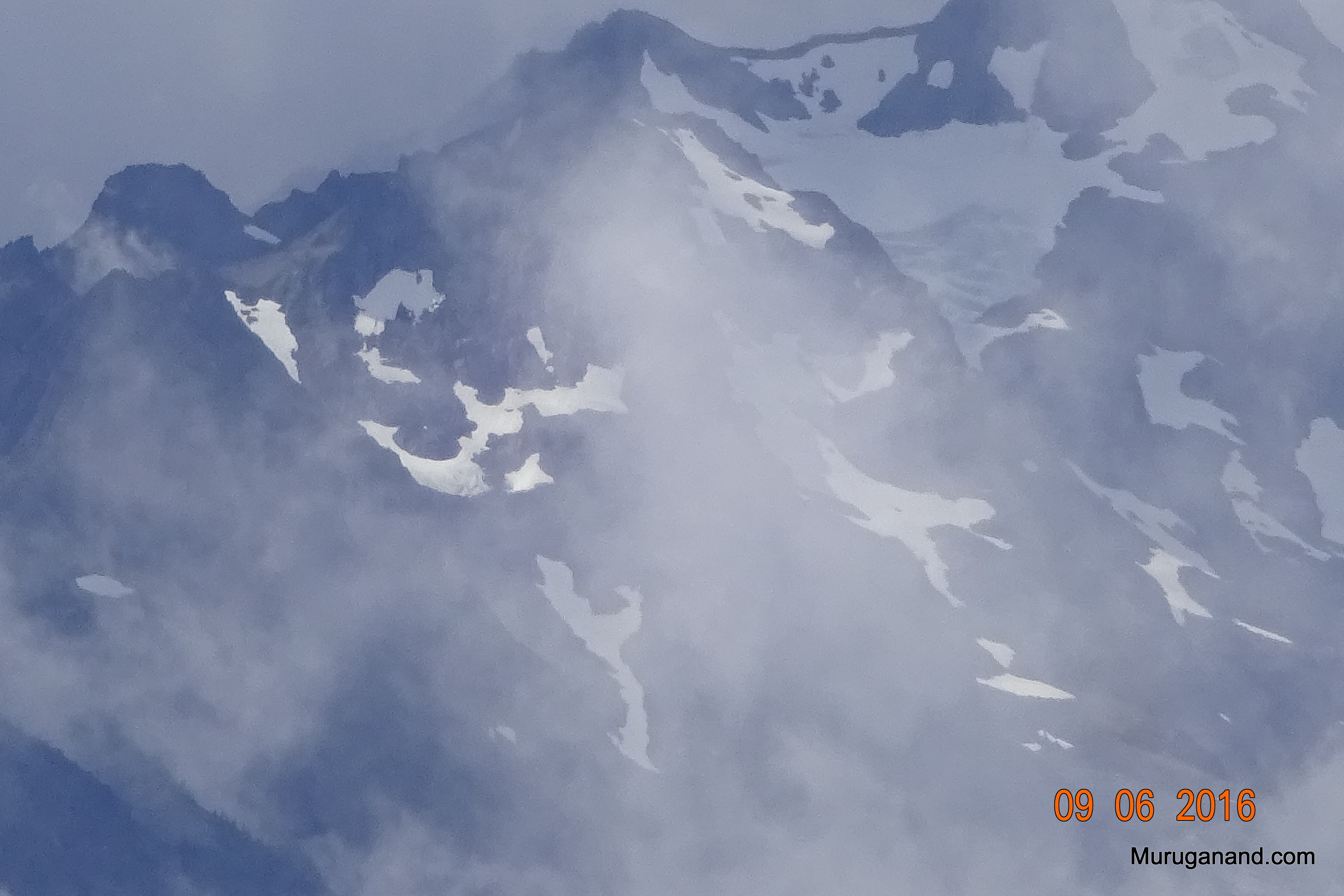 Close up view of Unicorn Horn and Griff Peak