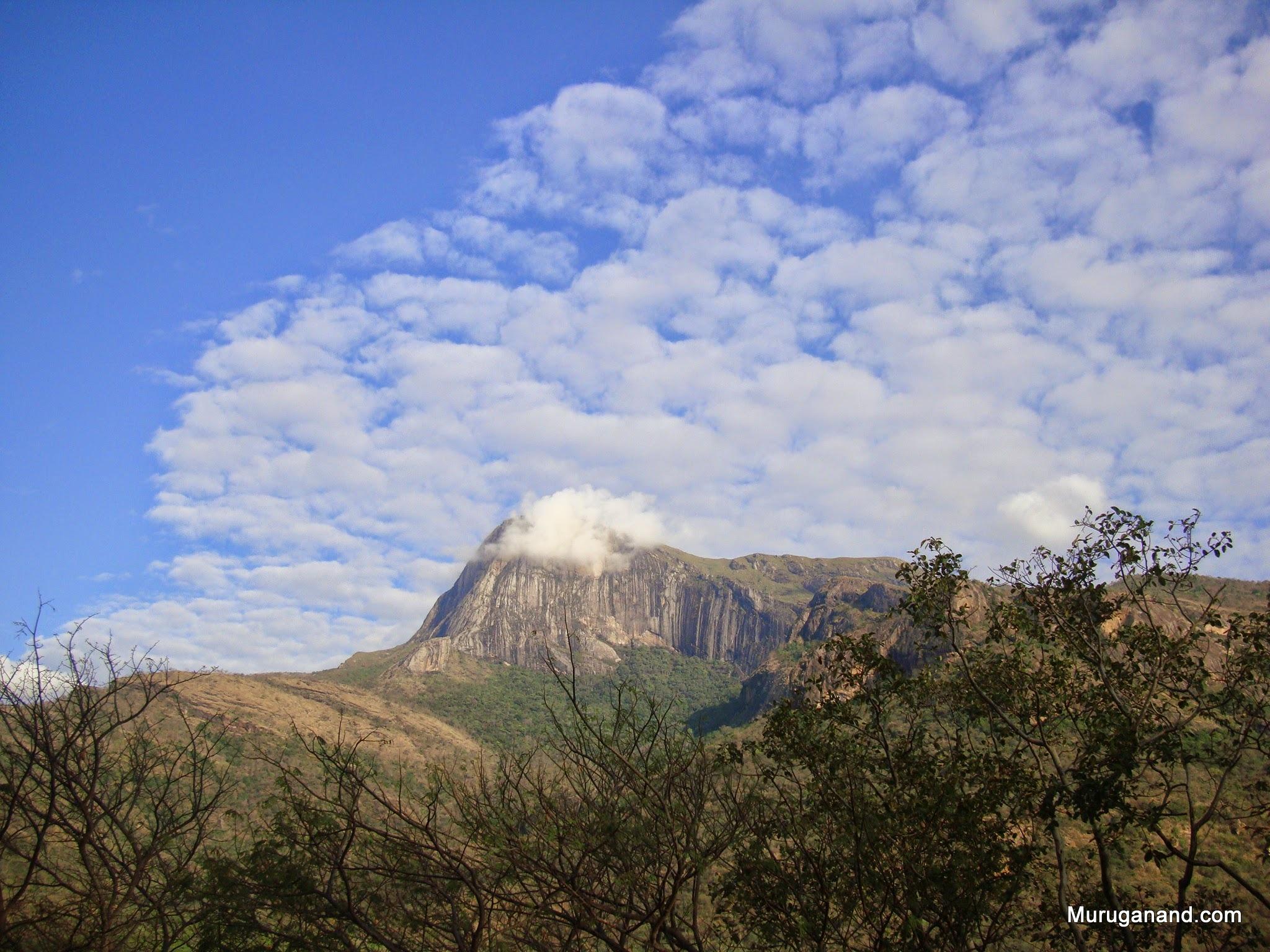 A peak at Tirumurthi Hills