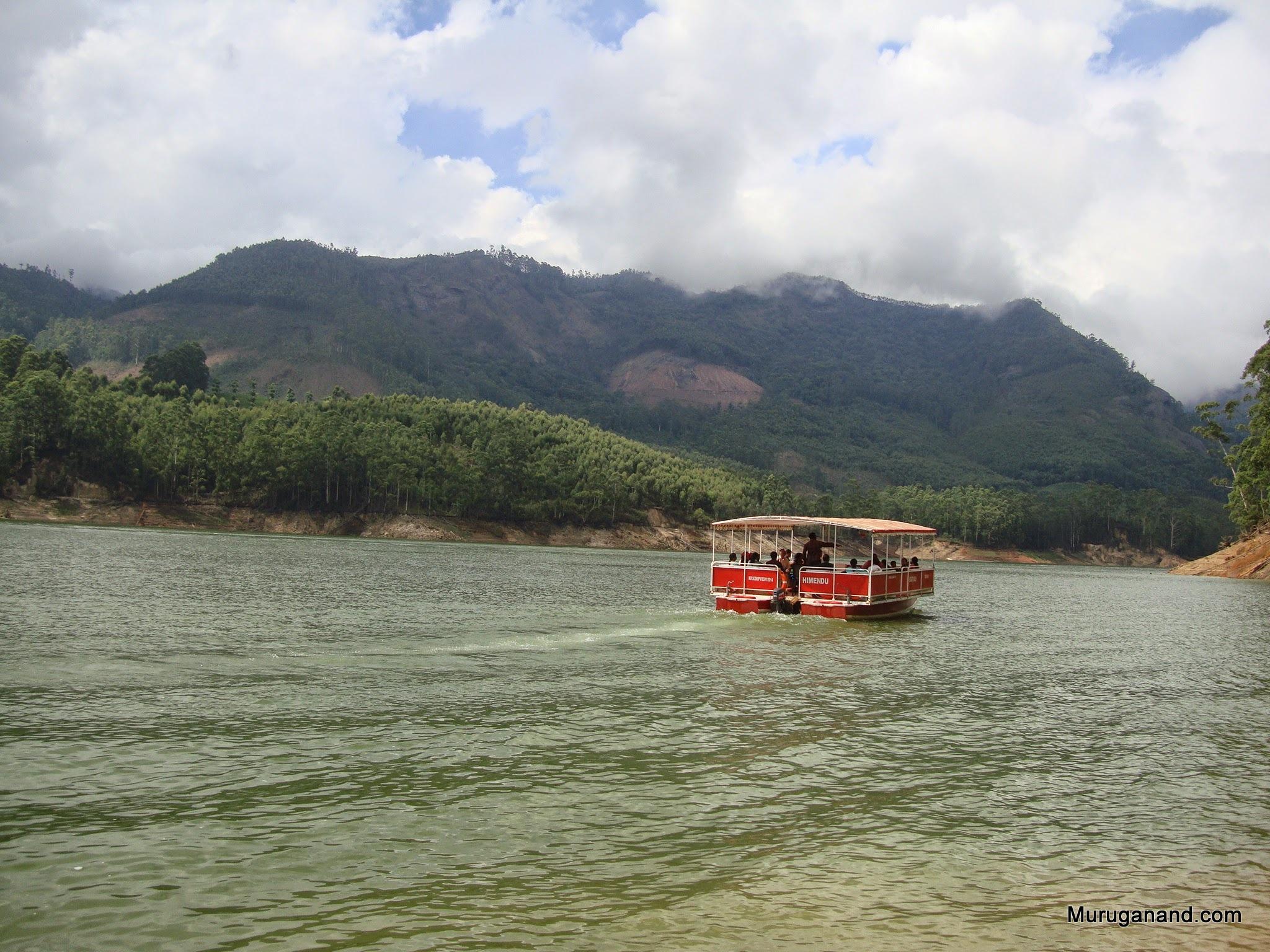 Lake surroundings are scenic