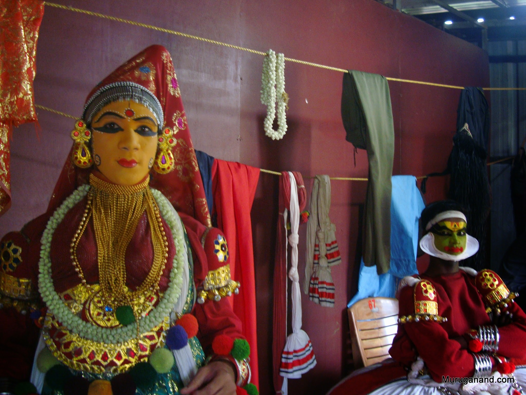 Kathakali (all male dance)- cultural show in the evening