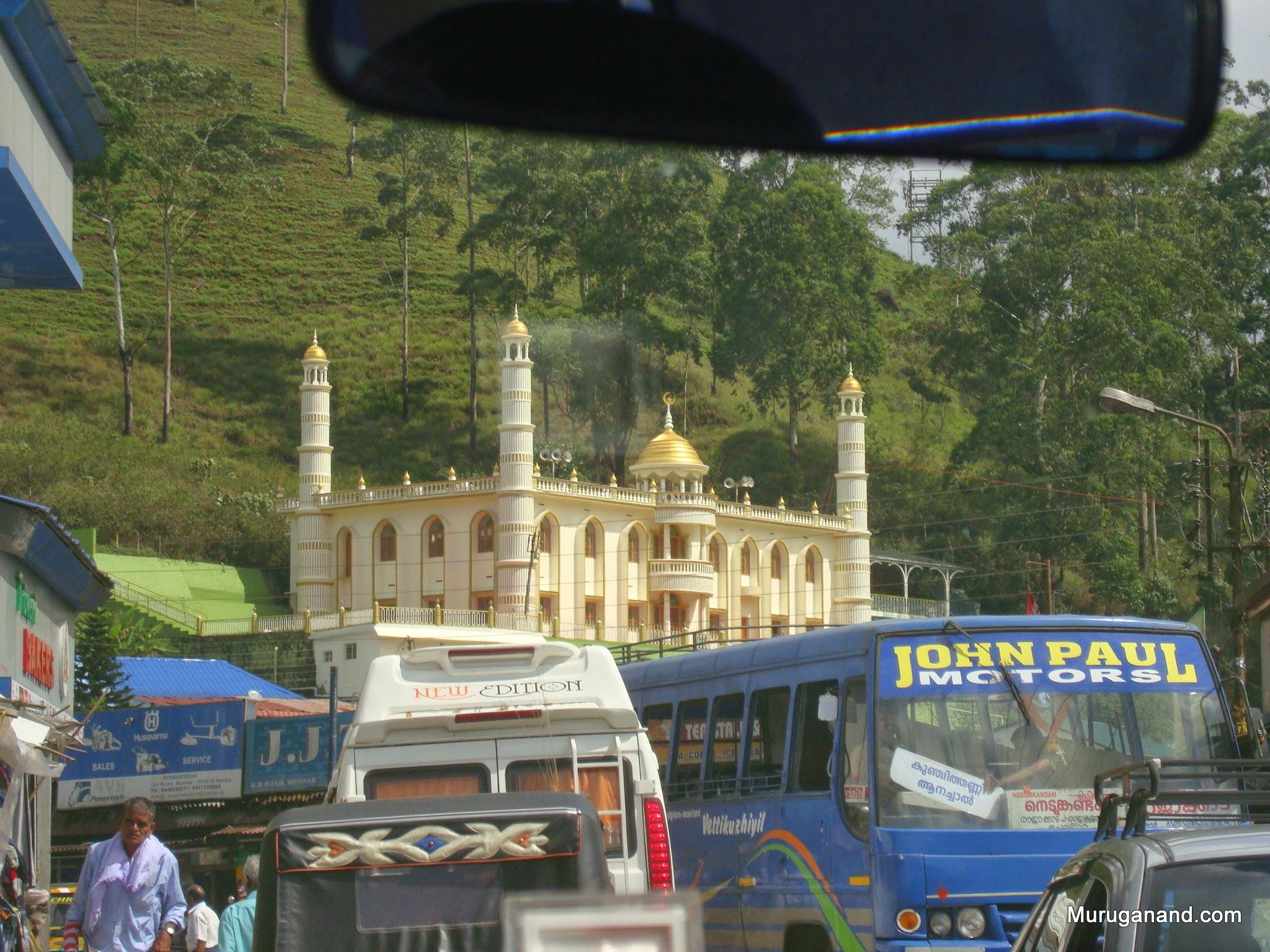 A Mosque in Munnar