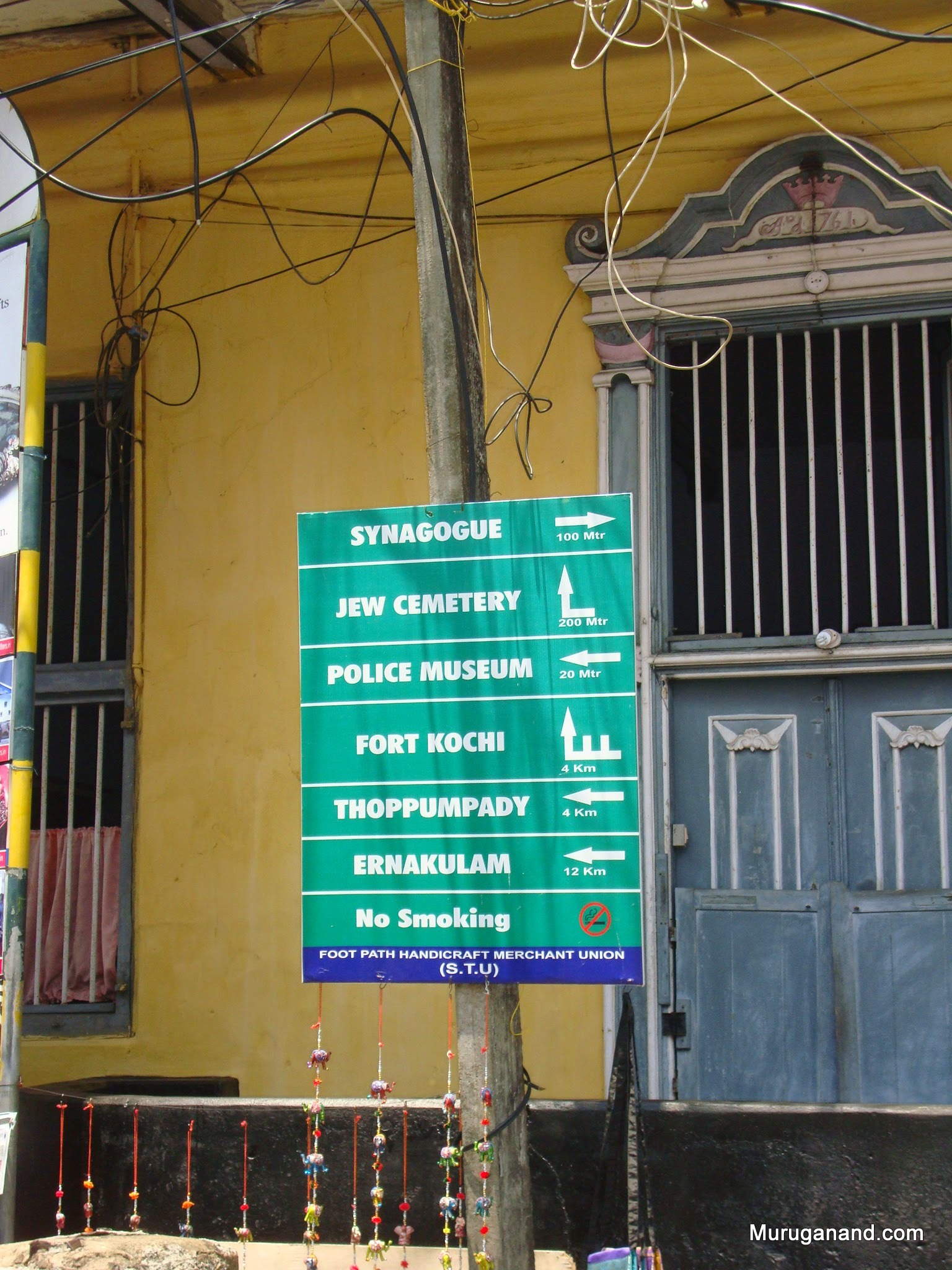We are in Fort Cochi- popular tourist area