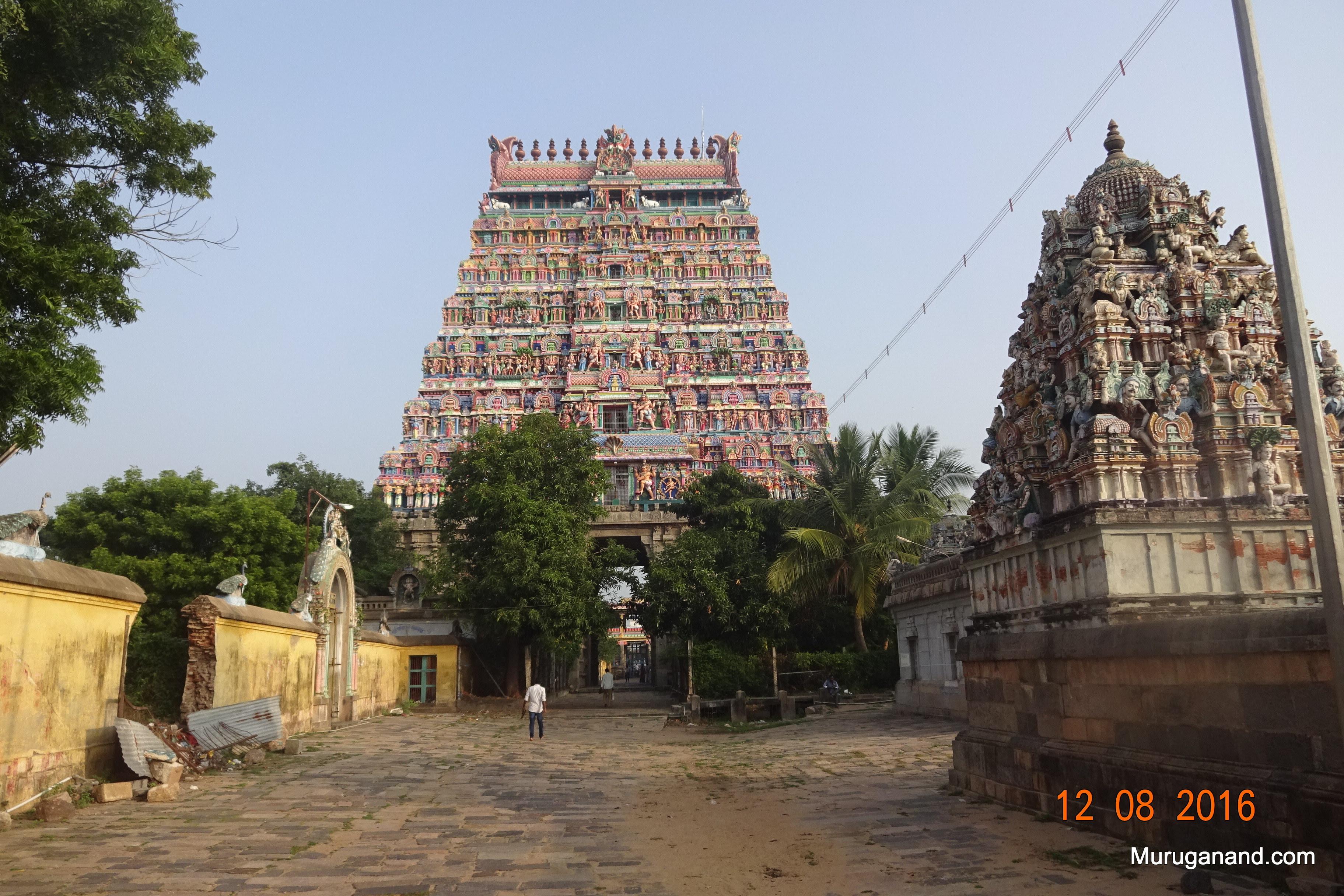 North Gopuram (inside)- North Tower