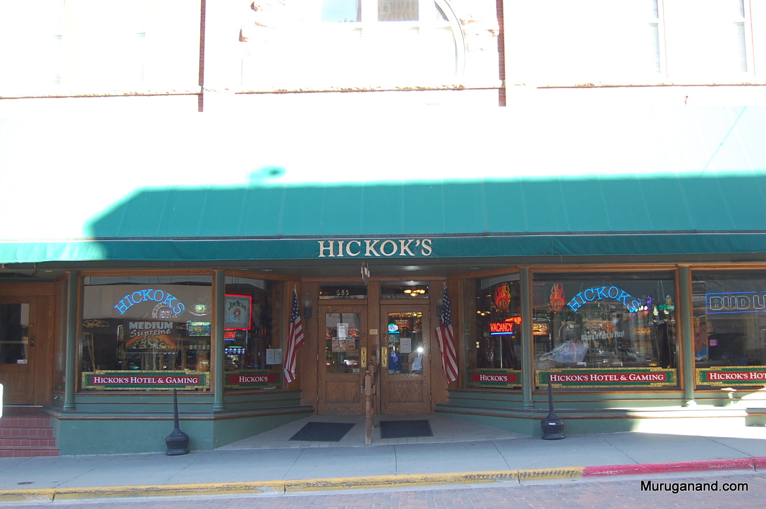 Hickok is still popular in Deadwood. Several hotels and stores bear his name.