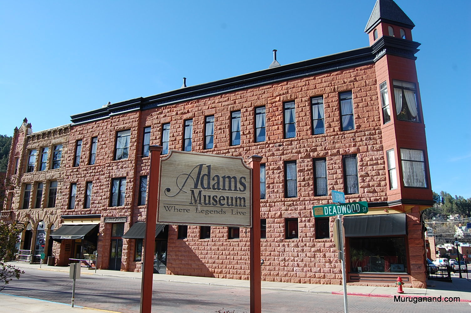 Adams Museum is a resource for the history of Deadwood.