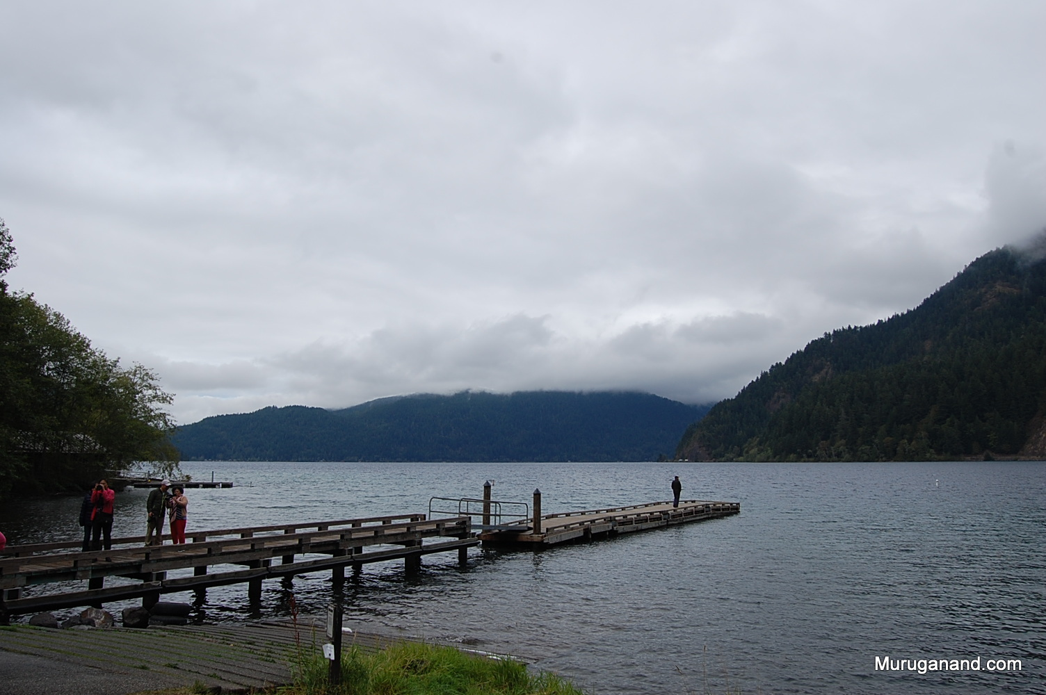 Nice view of the lake. It is deep water (300 ft average depth; 624 ft max)