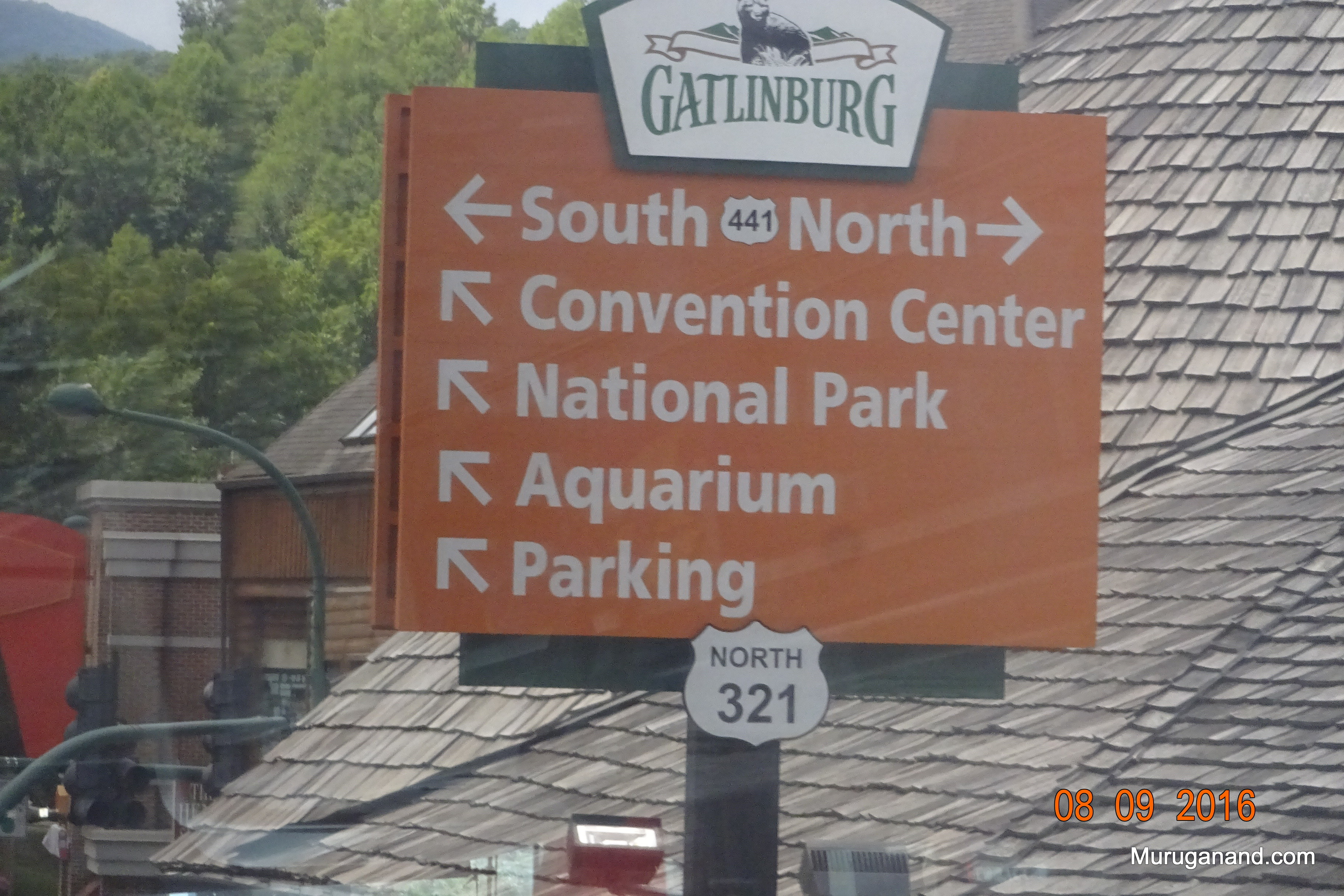 Gatlinburg is the gateway to the park in Tennessee