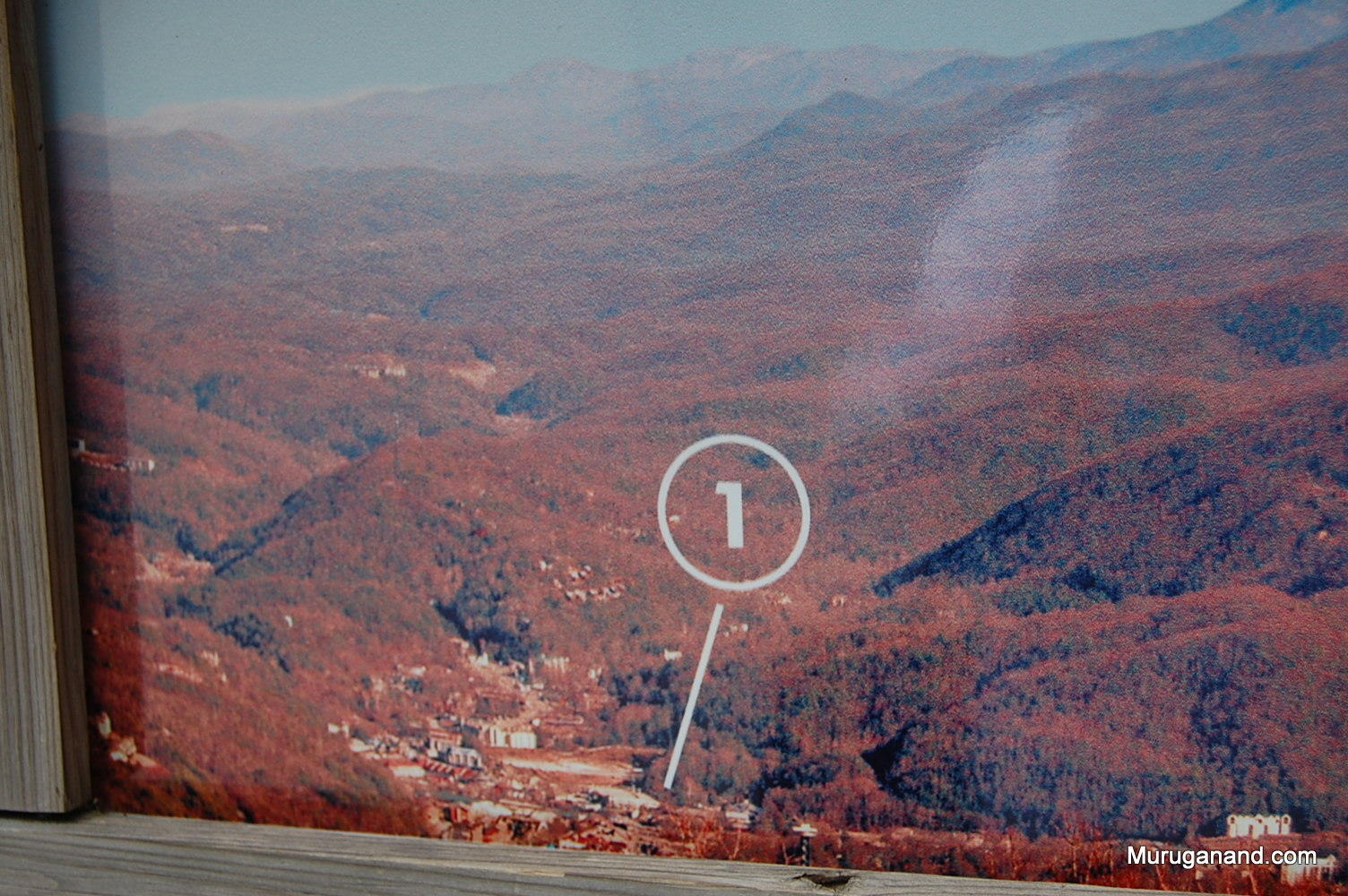 1. City of Gatlinburg in the picture