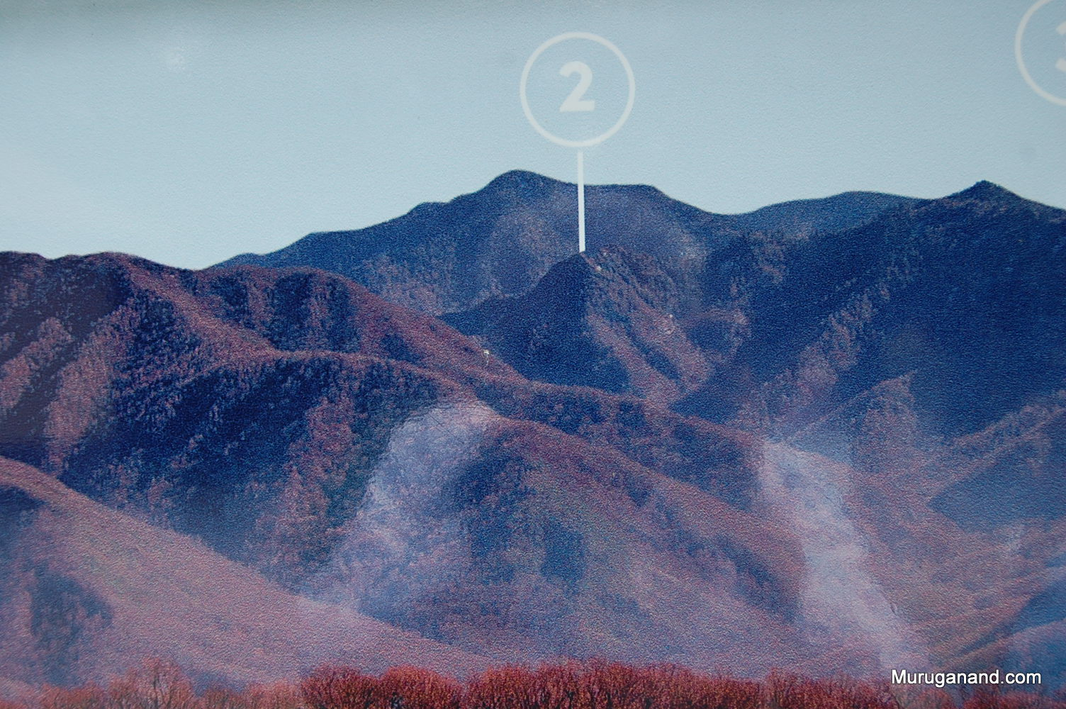 2- Chimney tops peak