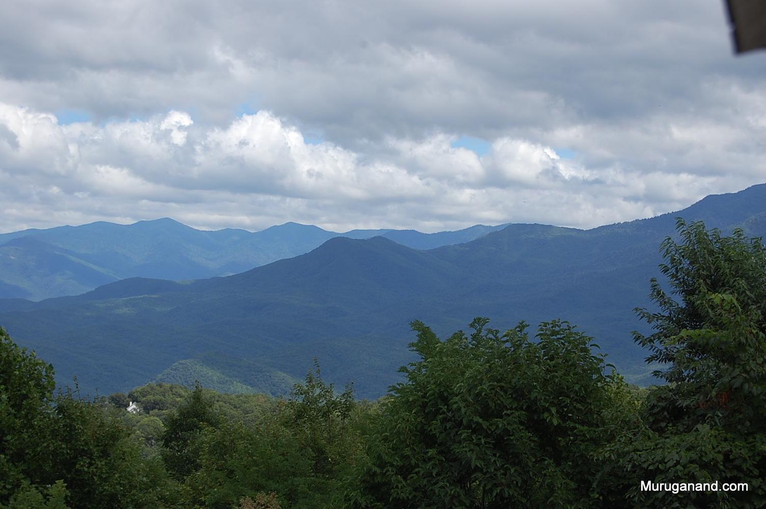 Location of actual Mt Le Conte