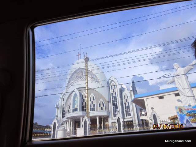 Church resembling Brazil landmark